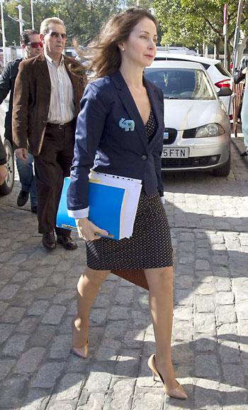 La Juez Mercedes Alaya. / EFE