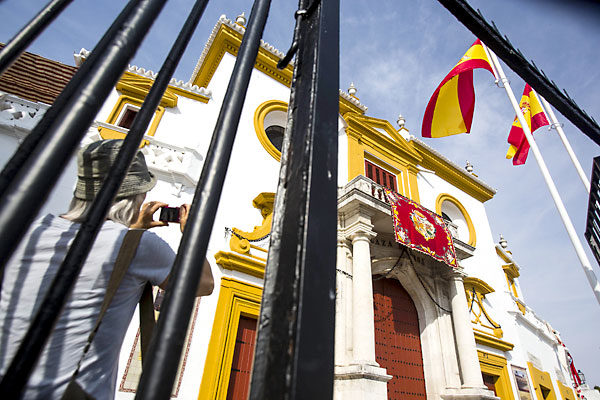 La plaza de toros de La Maestranza. / Carlos Hernández