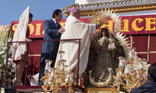 Coronación de la Virgen de la Estrella de Chucena. / J.M. Paisano