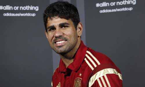 Diego Costa selección española España adidas