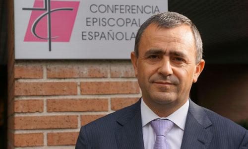 Fernando Giménez Barriocanal presentó el pasado lunes la memoria justificativa de actividades de la Conferencia Episcopal, el documento en el que se refleja toda la actividad económica de la Iglesia española. / M.J.A.