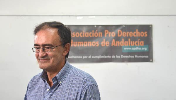 Francisco Javier Hervás ha pasado por casi todos los empleos posibles dentro de la cárcel en sus 18 años como reo. / El Correo