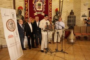Los responsables de los restaurantes implicados en el proyecto el día de su presentación. Foto: Francisco Amador