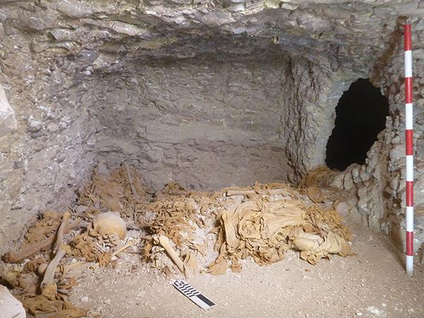 Se han hallado restos de momias de la Dinastía XVII por su reutilización. / El Correo