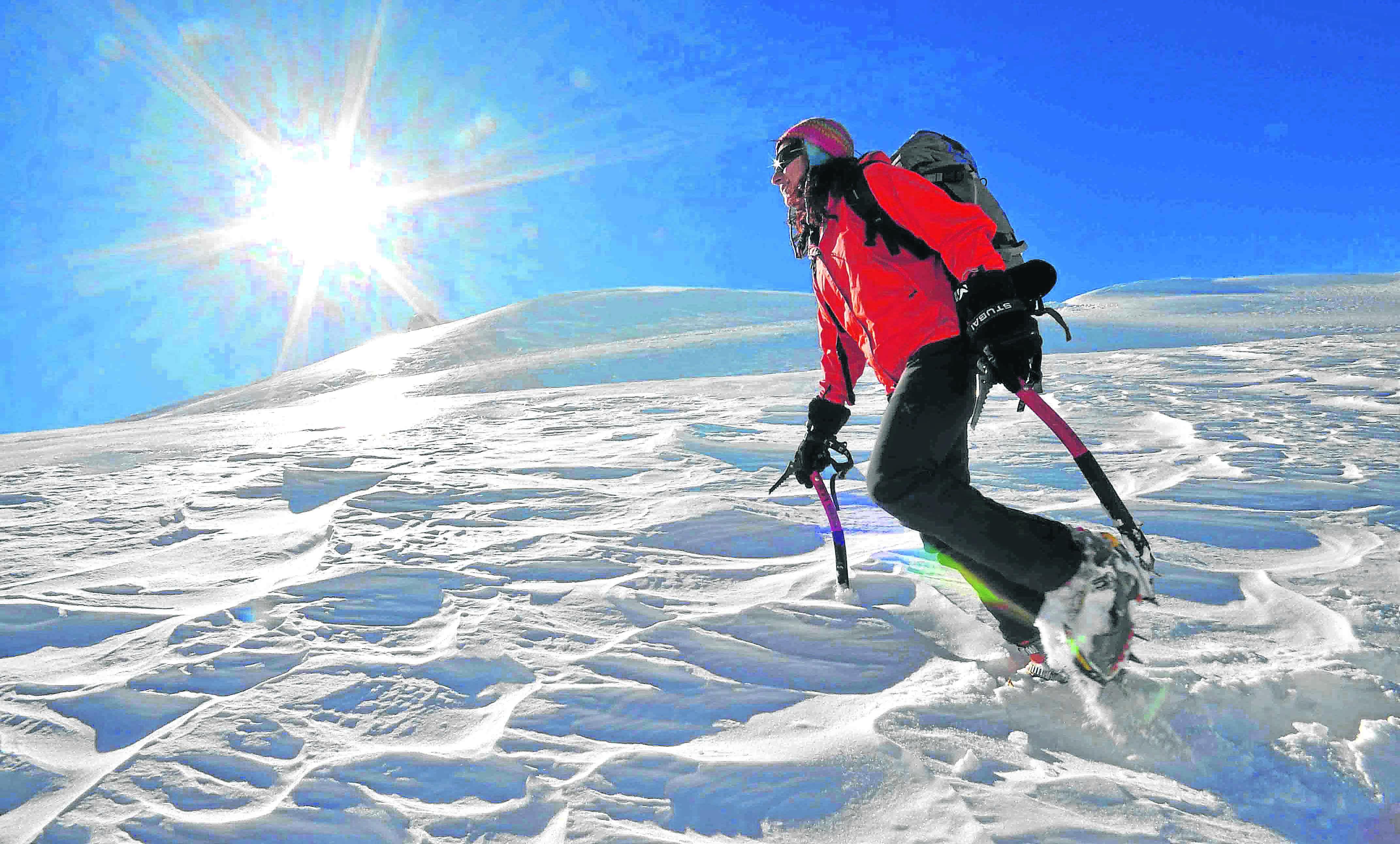 Lina Quesada, primera mujer andaluza en alcanzar la cima del Everest.