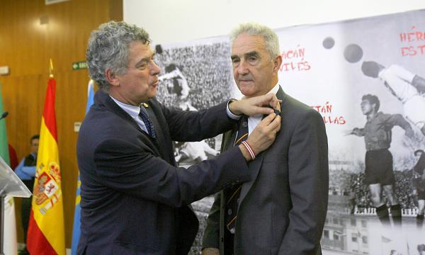 Campanal, historia viva del Sevilla y del fútbol español (Foto: Estefanía González)