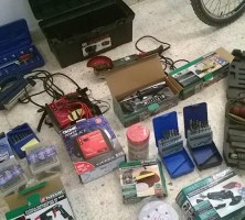 Parte del material recuperado por los agentes en el robo. Foto: El Correo