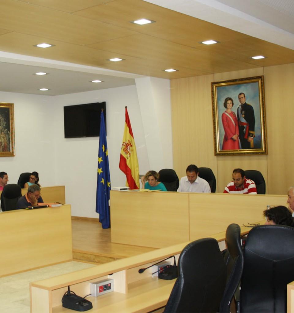 Pleno del Ayuntamiento de Mairena del Alcor celebrado la semana pasada. Foto: El Correo