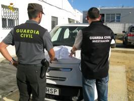 Agentes de la Guardia Civil de Huelva y Sevilla han llevado a cabo esta operación. Foto: El Correo