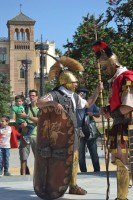 Gilena disfruta durante el fin de semana de las legiones romanas. Foto: El Correo