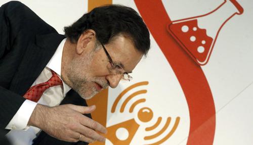 RAJOY DICE QUE ESPAÑA ESTÁ PISANDO EL ACELERADOR DE LA VUELTA AL CRECIMIENTO