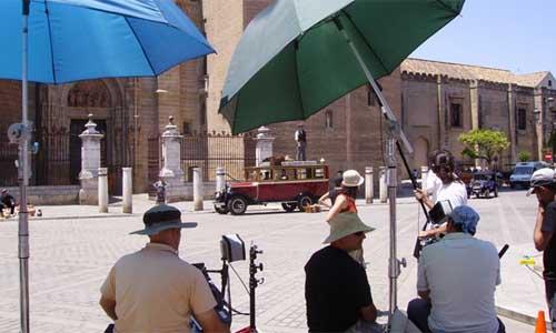Rodaje Sevilla