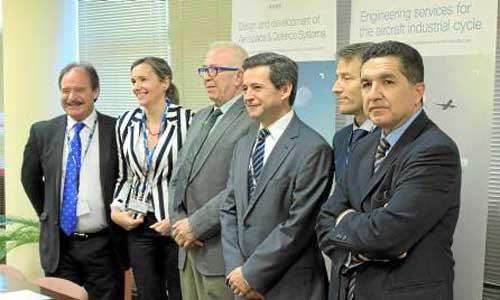 Arturo de Vicente, Vanessa Bernad, José Sánchez Maldonado, Antonio Gómez Guillamón, David Doral y Gaspar Llanes. / el correo