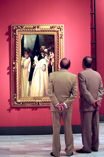 La colección de arte de Mariano Bellver ha sido expuesta en varias ocasiones en el Bellas Artes de Sevilla. / El Correo