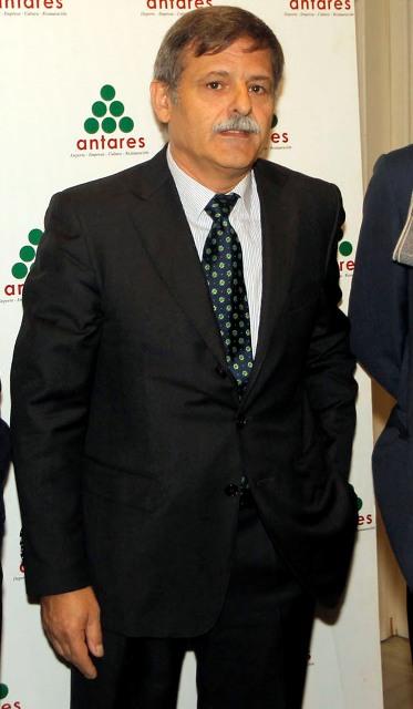 José Antonio Bosch, en un acto en su etapa en el Betis / Paco Puentes