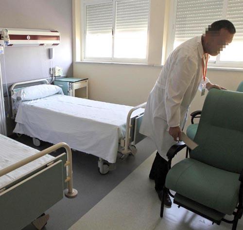 Nuevas áreas de Rehabilitación y Traumatología del H.V.R.