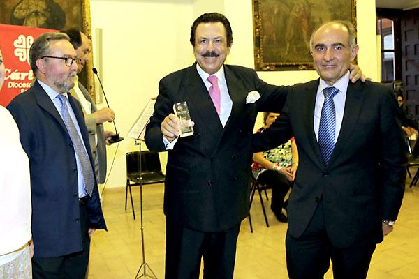 De izda. a dcha. Mariano Pérez de Ayala, Antonio Morera Vallejo y David López Royo.