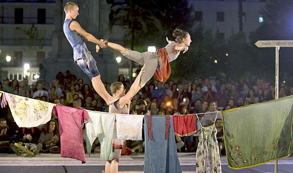 Una actuación del Festival Circada. / EFE