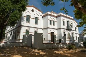 El centro de la Corredera del colegio San Eustaquio.