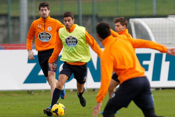 Juan Domínguez, entrenándose (Foto: Amador Lorenzo)