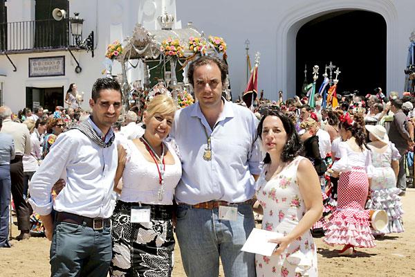 El Correo TV se ha trasladado estos días hasta la aldea para retransmitir todo lo que allí ocurre. / José Luis Montero