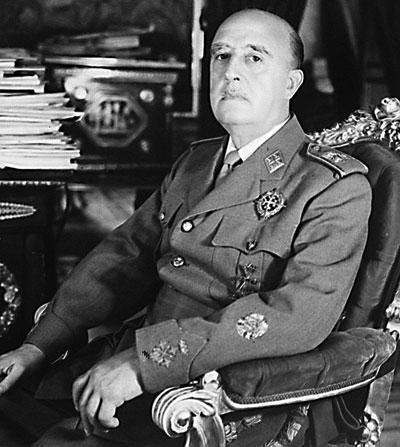 El dictador Francisco Franco. / El Correo