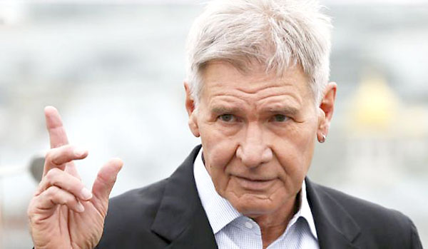 El actor Harrison Ford.