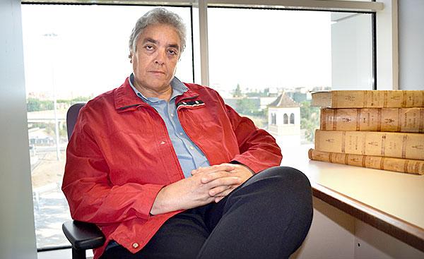 Manuel Bohórquez, un crítico flamenco que demuestra desenvolverse con toda comodidad como letrista. / Jesús Barrera
