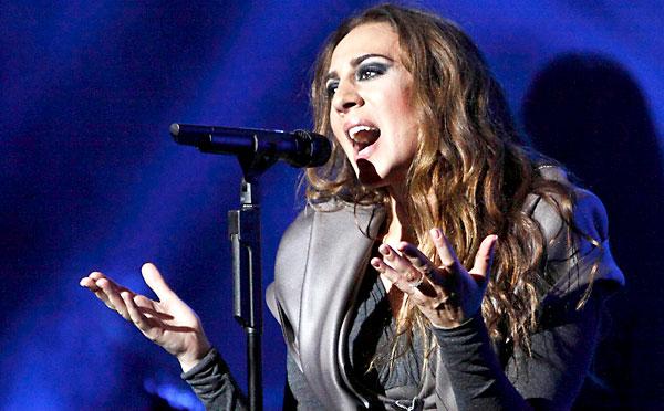 Mónica Naranjo llega este sábado al auditorio de Fibes con su nuevo espectáculo '4.0'. / El Correo