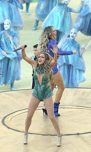 Ceremonia de inauguración del Mundial de Brasil 2014. / EFE
