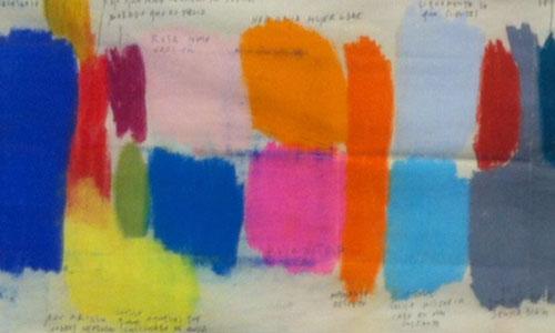 'Color Atalas', una de las obras de la muestra de Paco Pérez Valencia. / Foto: El Correo