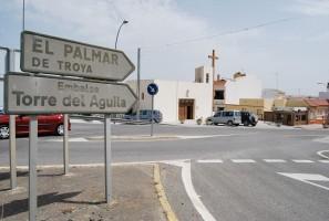 El Palmar de Troya se encuentra a más de 13 kilómetros del núcleo urbano de Utrera. Foto: Salvador Criado