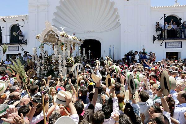 Presentación de la hermandad de Triana. / Foto: José Luis Montero