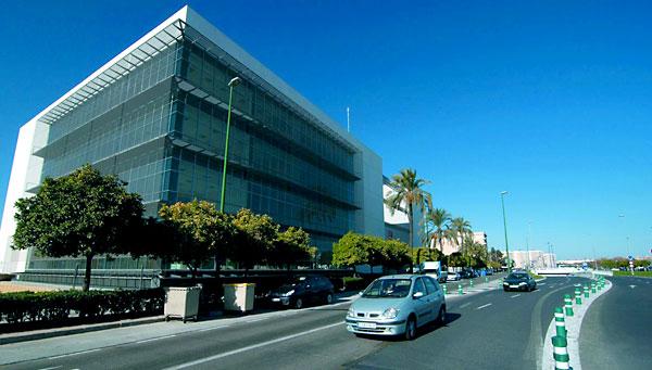 La sede de Seguridad y Movilidad y de la Jefatura de la Policía Local, en los suelos donde estaba la cárcel de la Ranilla.
