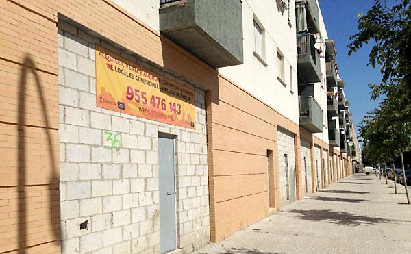 Locales cerrados de Emvisesa.