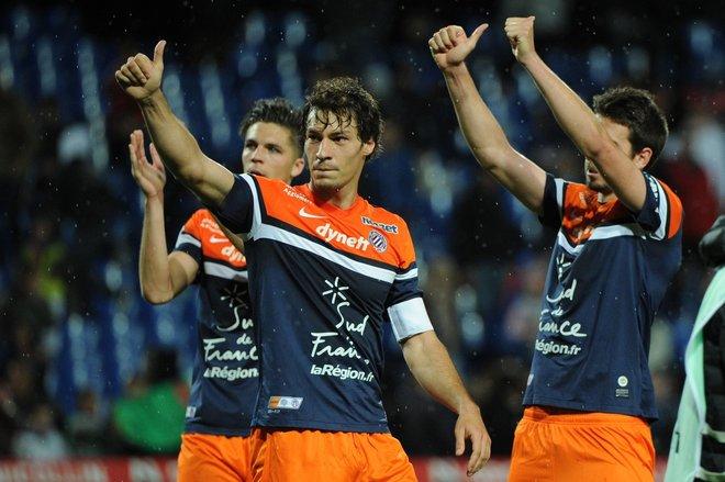 Stambouli celebra una victoria de su equipo.