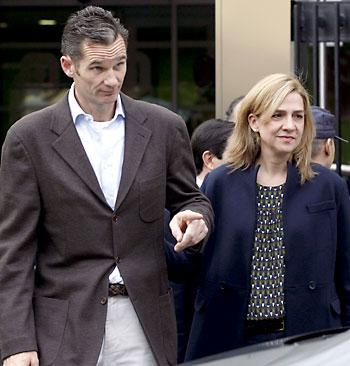 La infanta Cristina e Iñaki Urdangarín. / EFE