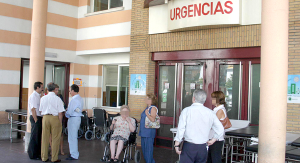 Urgencias del Hospital Virgen Macarena. / David Estrada