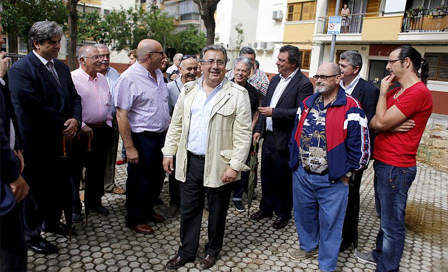 Juan Ignacio Zoido, en un acto del Betis / Kiko Hurtado