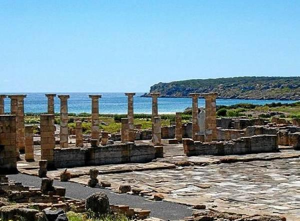 Conjunto arquitectónico Baelo Claudia es uno de los poblados romanos mejor conservados de la península ibérica. / El Correo