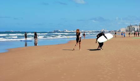 La playa de Cortadura en Cádiz es otra de las premiadas. / Laura López