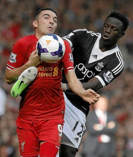 Iago Aspas ha jugado la última temporada en el Liverpool pero apenas ha tenido protagonismo en el equipo. / Phil Noble
