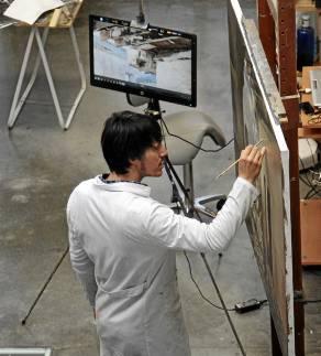 Jorge Gallego regalará una lámina con motivo de la Vela