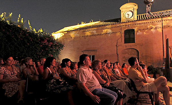 El público en una de las actuaciones de las Noches de Verano. / Paco Puentes
