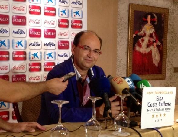 El presidente del Sevilla