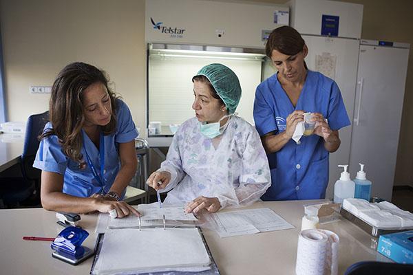 Sevilla 17/07/2014 Hospital de la mujer, area de lactancia.FOTO: Pepo Herrera