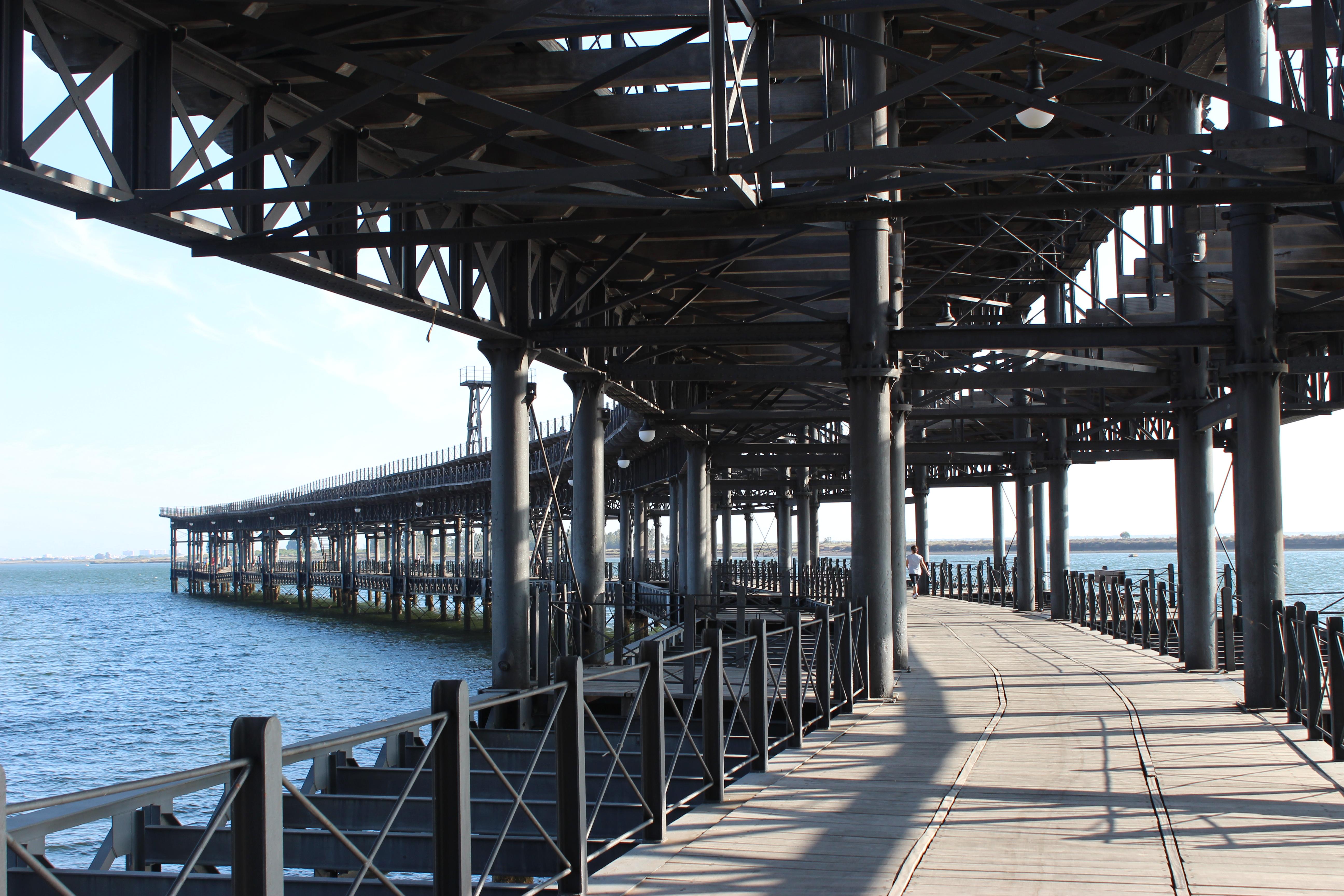 Muelle del Tinto - M. Bautista