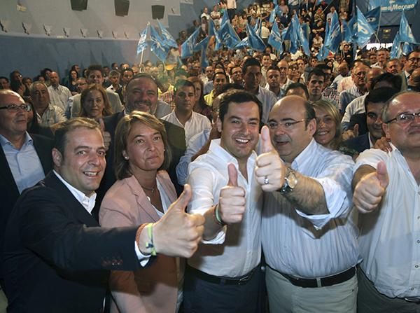 CLAUSURA DE LA CONVENCIÓN DE CANDIDATOS MUNICIPALES DEL PP DE GRANADA