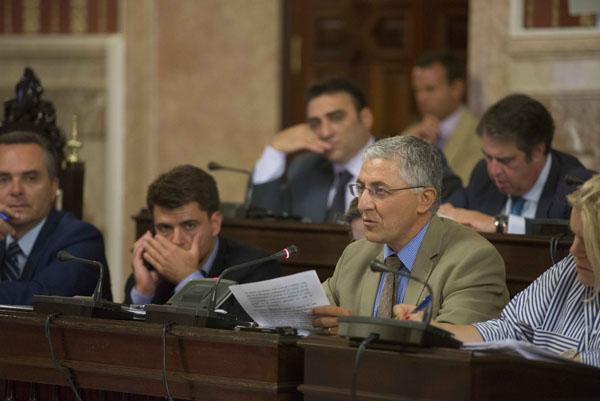 Sevilla 25 07 2014:Pleno Ayuntamiento de sevilla.FOTO:J.M.PAISANO