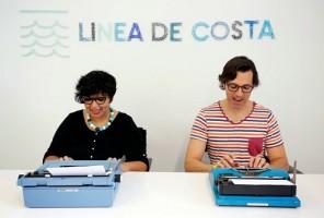 Rocío Arévalo y Pablo Alonso integrantes de Línea de Costa A.I.R.